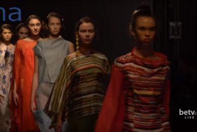 SAZHINA. Показ коллекции SS2017 на 39 Ukrainian Fashion Week