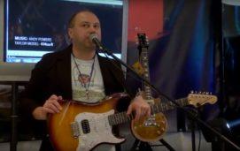 Презентація гітари  Vintage V6HFTB, V100AW. Роман Кузнєцов