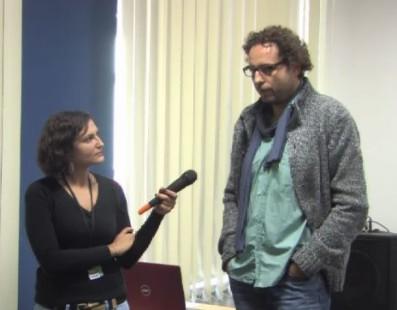 Кінофестиваль «Молодість» «Майстерня Талантів»: Зустріч із Теодором Ушевим