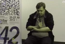 Кінофестиваль «Молодість», Майстерня талантів: Зустріч з Мирославом Слабошпицьким