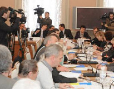 Обсуждение вопроса Гостиного двора на заседании Комитета ВР