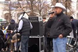 Митинг-концерт на защиту Гостиного двора