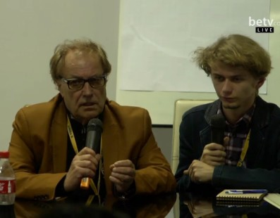 Лордан Зафранович. Мастер-класс на кинофестивале «Молодость»