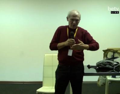 Виктор Матизен. Мастер-класс на кинофестивале «Молодость»