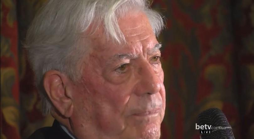 Маріо Варгас Льоса. Бесіда із Нобелівським лауреатом з літератури