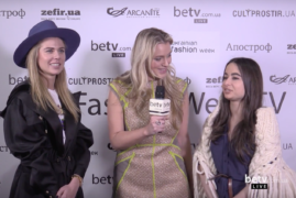 Анастасия Сличная и Ирина Пожарская. Interview for #FashionWeekTV