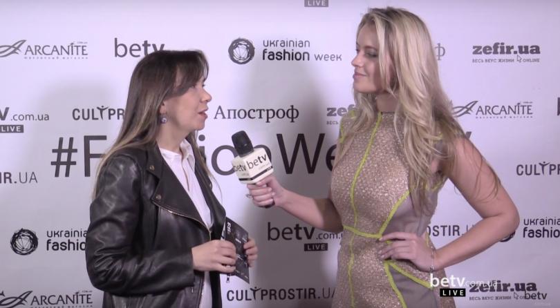Татьяна Кондратюк. Interview for #FashionWeekTV