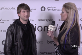 Дмитрий Ступка. Interview for #FashionWeekTV
