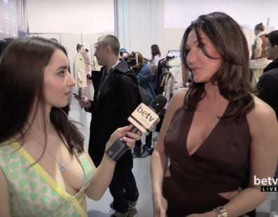 Юлия Айсина. Interview for #FashionWeekTV