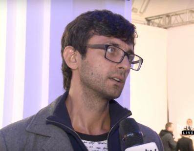 Антон Фридлянд. Interview for #FashionWeekTV