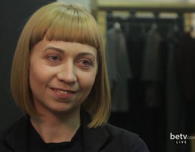 Lake. Interview for #FashionWeekTV
