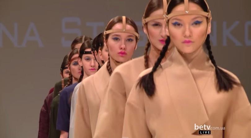 Laksmi by Maryanna Steshenko. Показ коллекции AW на 36-й Ukrainian Fashion Week