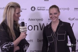 Даша Трегубова. Interview for #FashionWeekTV