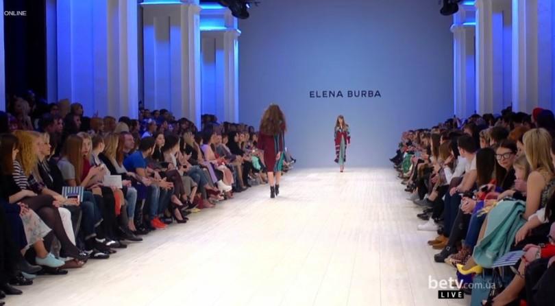 ELENA BURBA:  Показ коллекции AW 15-16 на 36 Ukrainian Fashion Week
