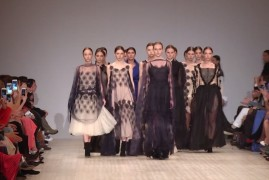 OLENA DATS. Показ коллекции AW на 36-й Ukrainian Fashion Week