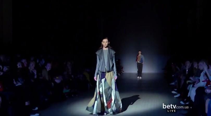 ELENA GOLETS. Показ коллекции AW на 36-й Ukrainian Fashion Week