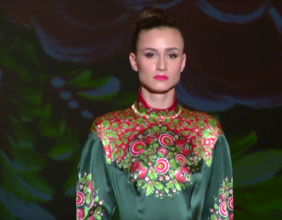 Iryna DIL: Показ коллекции AW 15-16  на 36 Ukrainian Fashion Week