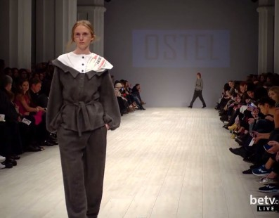 OSTEL. Показ коллекции AW на 36 Ukrainian Fashion Week