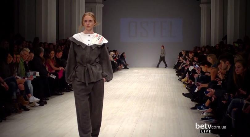 OSTEL. Показ коллекции AW на 36 Ukrainian Fashion Week