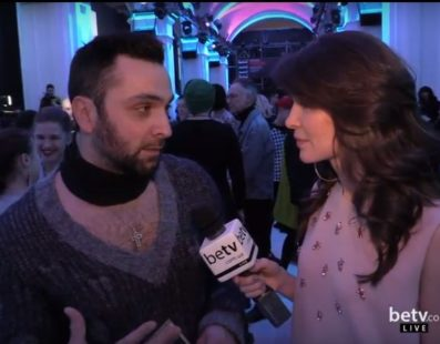 Андреас. Interview for #FashionWeekTV