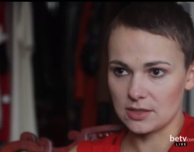 Katja Bereznitsky, Interview for #FashionWeekTV