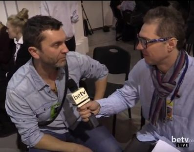 Сергей Бобак. Interview for #FashionWeekTV