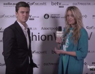 Евгений Хмара. Interview for #FashionWeekTV