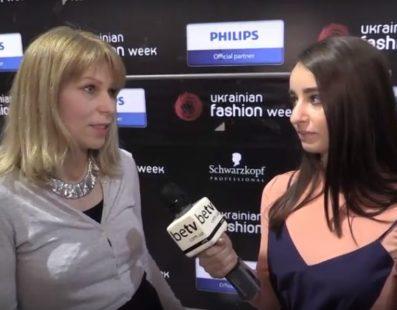 Алена Сереброва. Interview for #FashionWeekTV