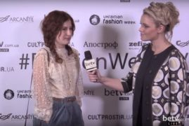 Ольга Шурова. Interview for #FashionWeekTV