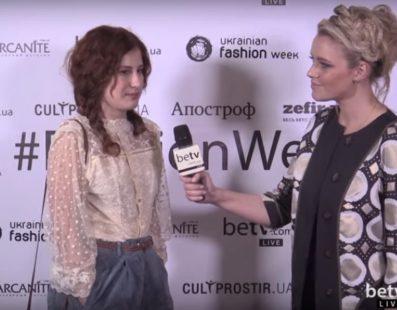 Ольга Шурова. Interview for #FashionWeekTV