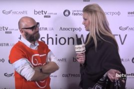 Серж Смолин. Interview for #FashionWeekTV