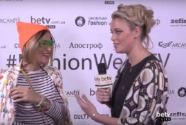 Екатерина Терехова. Interview for #FashionWeekTV
