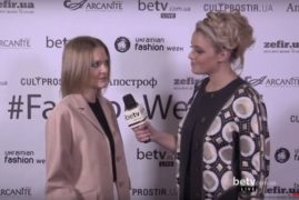 Вера Титова. Interview for #FashionWeekTV