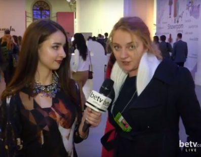 Катя Возианова.  Interview for #FashionWeekTV
