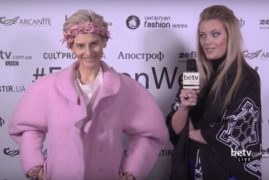 Катро Заубер. Interview for #FashionWeekTV