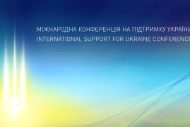 INTERNATIONAL SUPPORT FOR UKRAINE CONFERENCE