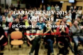 Garage48 Kiev 2015. Final event