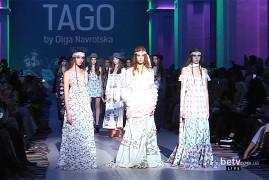 TAGO BY OLGA NAVROTSKA . Показ коллекции SS на 37 Ukrainian Fashion Week