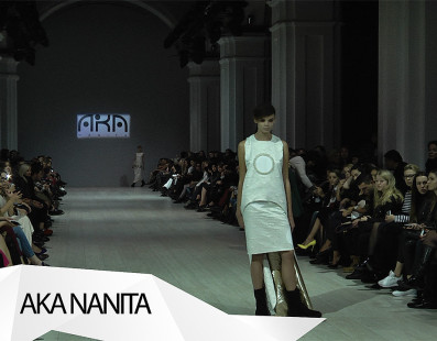 AKA NANITA (GEORGIA). Показ коллекции SS на 37 Ukrainian Fashion Week