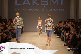 LAKSMI BY MARYANA STESHENKO. Показ коллекции SS на 37 Ukrainian Fashion Week