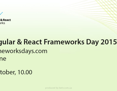 Angular & React Frameworks Day 2015