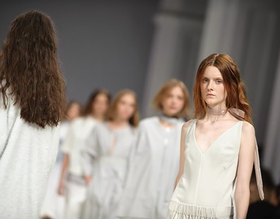 ELENA BURENINA. Показ коллекции SS на 37 Ukrainian Fashion Week