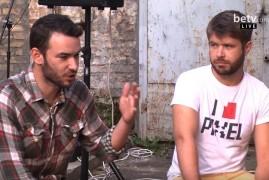 Ярослав Лодыгин и Данила Хомутовский на канале betv