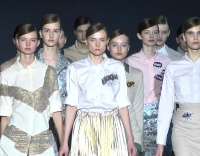 Yuliya Polishchuk. Показ коллекции AW2016-2017 на 38 Ukrainian Fashion Week