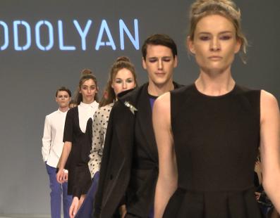 PODOLYAN. Показ коллекции AW2016-2017 на 38 Ukrainian Fashion Week