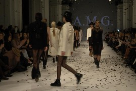 A.M.G. Показ коллекции AW2016-2017 на 38 Ukrainian Fashion Week