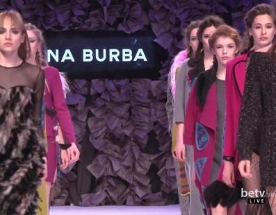 Elena BURBA . Показ коллекции AW2016-2017 на 38 Ukrainian Fashion Week