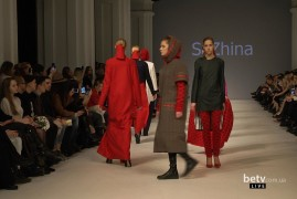SaZhina. Показ коллекции AW2016-2017 на 38 Ukrainian Fashion Week. New Names