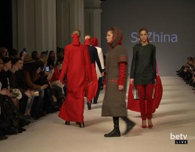 SaZhina. Показ коллекции AW2016-2017 на 38 Ukrainian Fashion Week. New Names