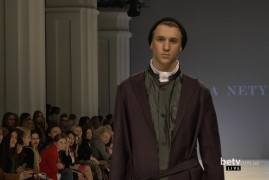 Yadviga NETYKSHA. Показ коллекции AW2016-2017 на 38 Ukrainian Fashion Week. New Names